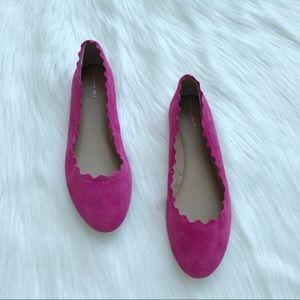 Tahari Pink Winny Flats